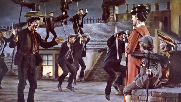 Kéményseprők tánca a legendás Marry Poppins filmben