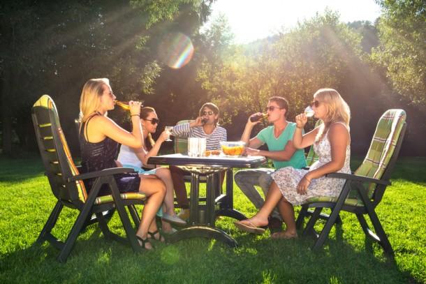 Nincs is jobb, mint a barátokkal együtt élvezni a jó időt