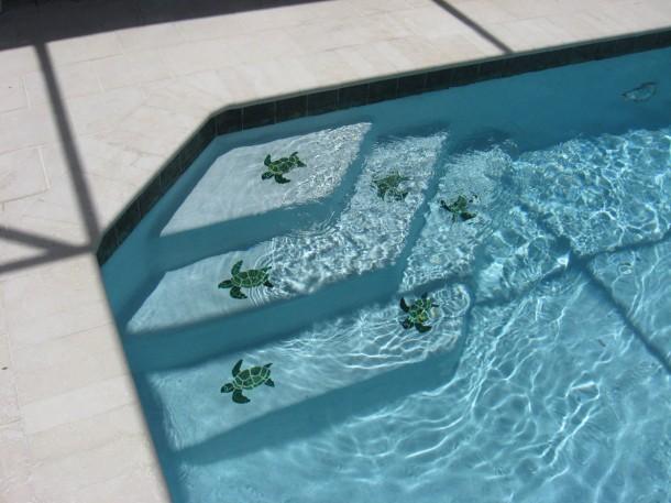 Mintákkal egyénivé tehetjük saját medencénket