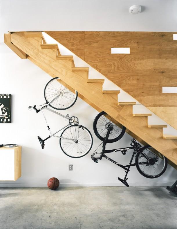 Így tárold trendin a kerékpárt!