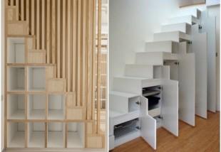 Ötletes és helytakarékos lépcsők, amik még jól is néznek ki!
