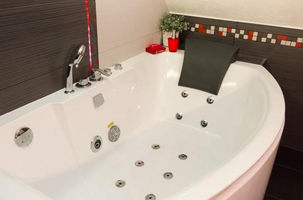 Kényeztető fürdőkád