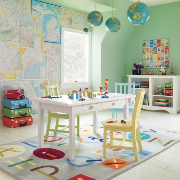 Szenzációs ötletek a gyerekszobába, amelyek észrevétlenül fejlesztik gyerkőcödet