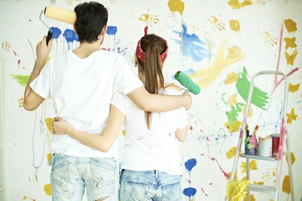 6 egyszerű tipp, amivel festéskor pénzt és időt spórolhatsz