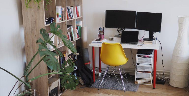 Otthonról dolgozol? Ettől a színtől jobban fog menni a munka!