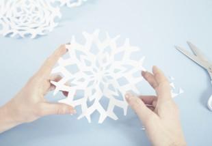 Hópehely papírból - 7 ingyenes hópehely sablon