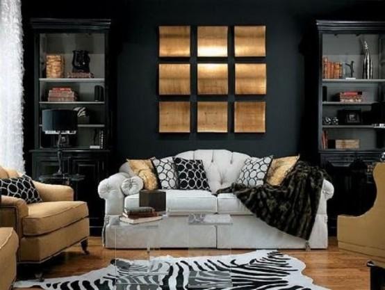 A szín, amitől szexi, modern és elegáns lesz a nappalid!