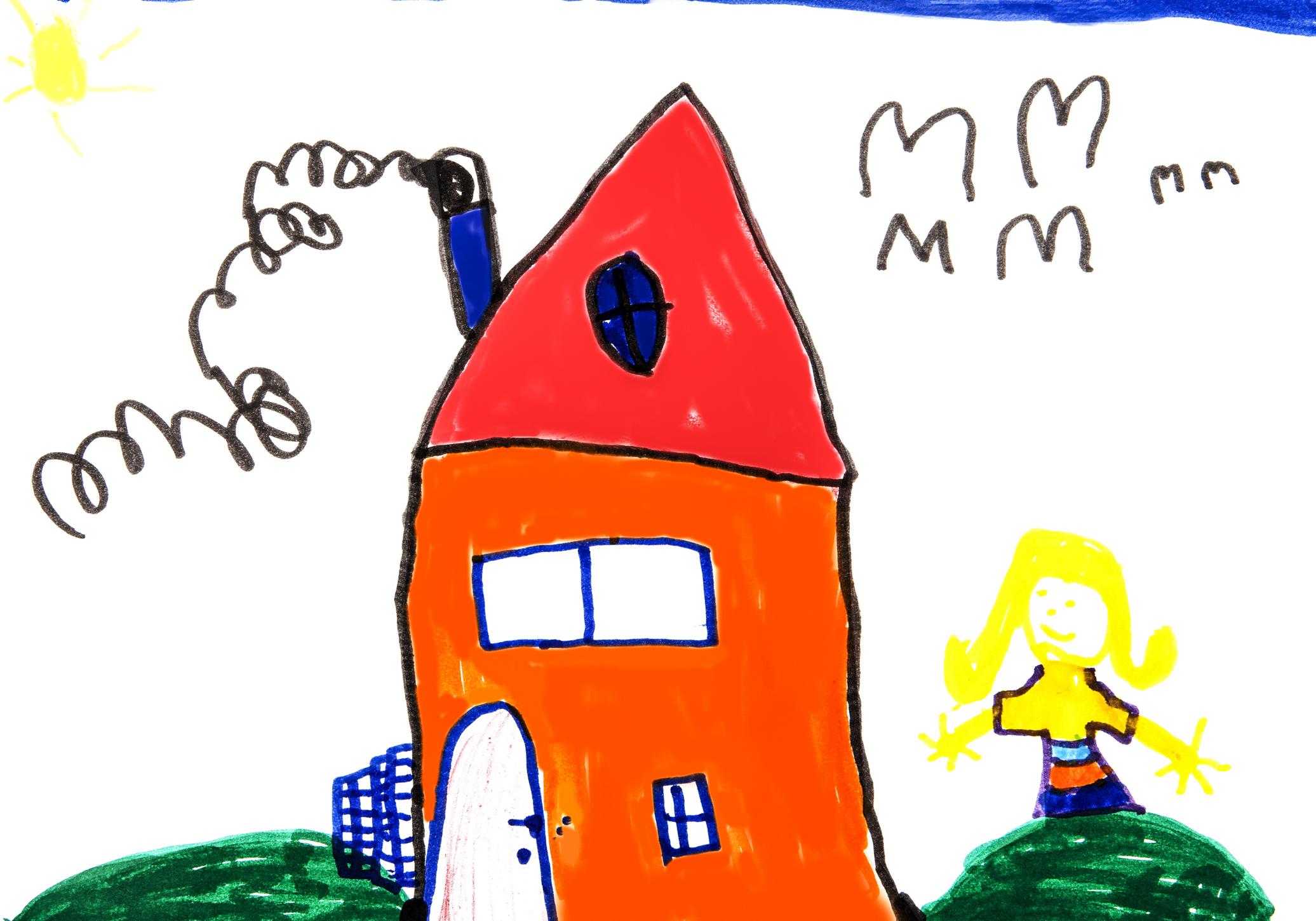 """""""Ha nagy leszek, lesz egy szép házam..."""" - A legtöbb gyermek egyik álma egy saját otthon."""