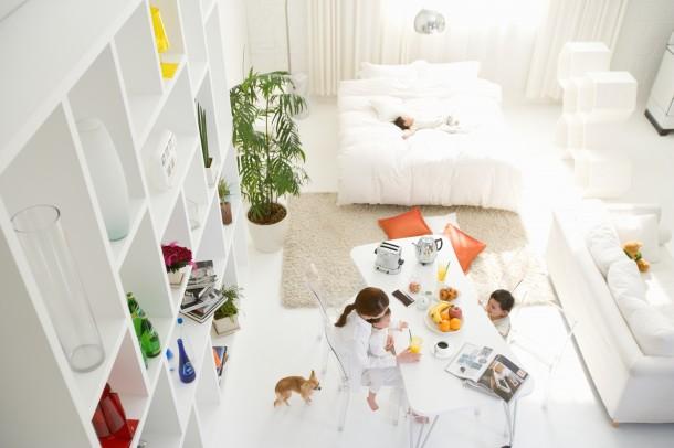 Hálószoba a nappaliban – Íme az 5 legpraktikusabb megoldás!