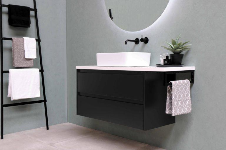 Fekete fürdőszoba inspirációk és ötletek, ha te is ilyenre vágysz