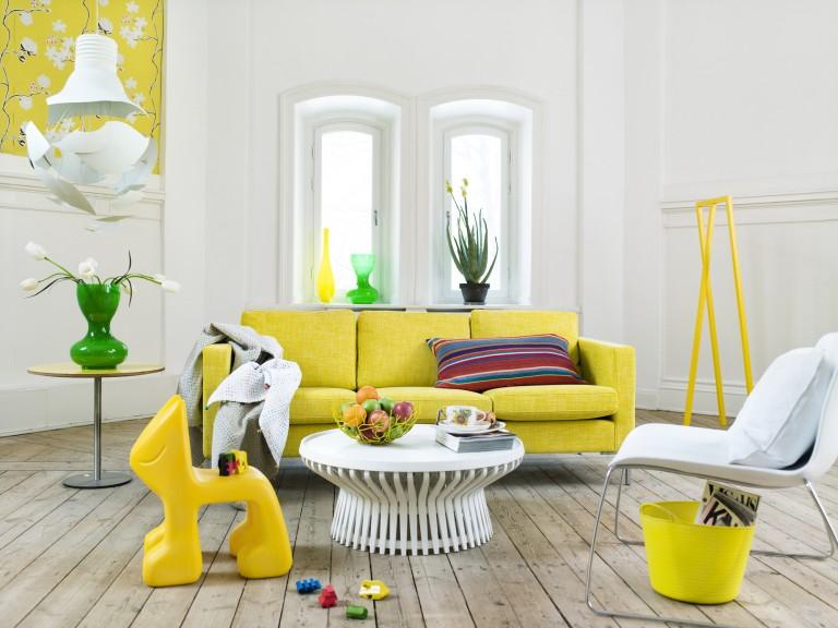 7 ízléses megoldás, hogyan dobd fel otthonodat citromsárgával
