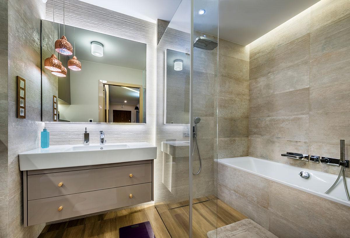 Fundamenta – Otthonok és megoldások Kis fürdőszoba káddal - 10 fenomenális megoldás!