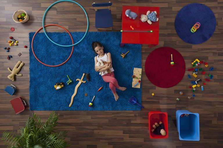Így lehet külön szobája a gyereknek egy hétvége alatt!