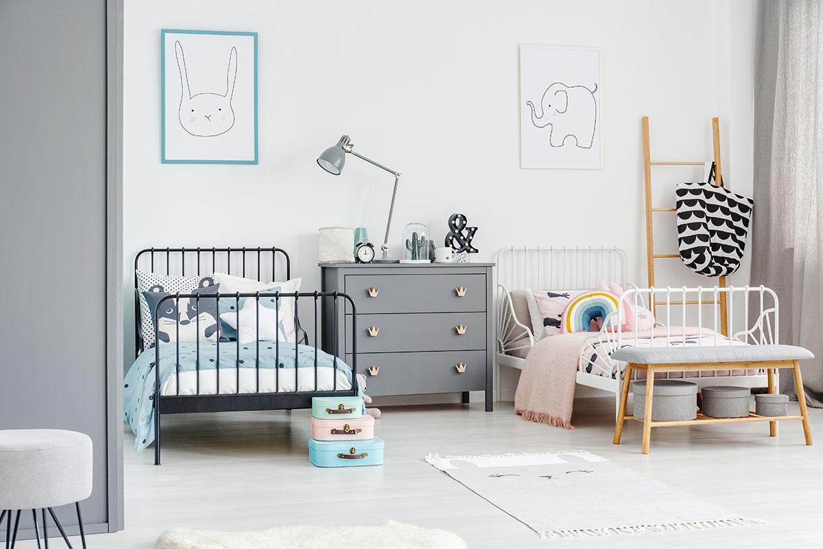Fundamenta – Otthonok és megoldások Kis gyerekszoba berendezése - 8 kreatív ötlet