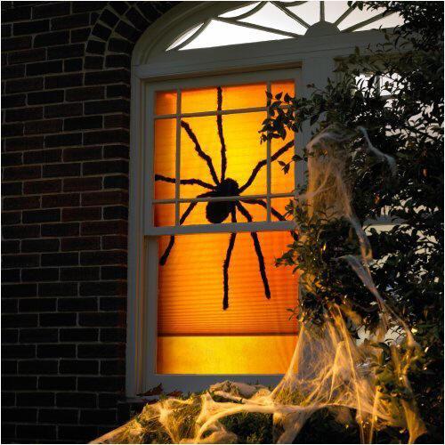 halloween ablakdíszek