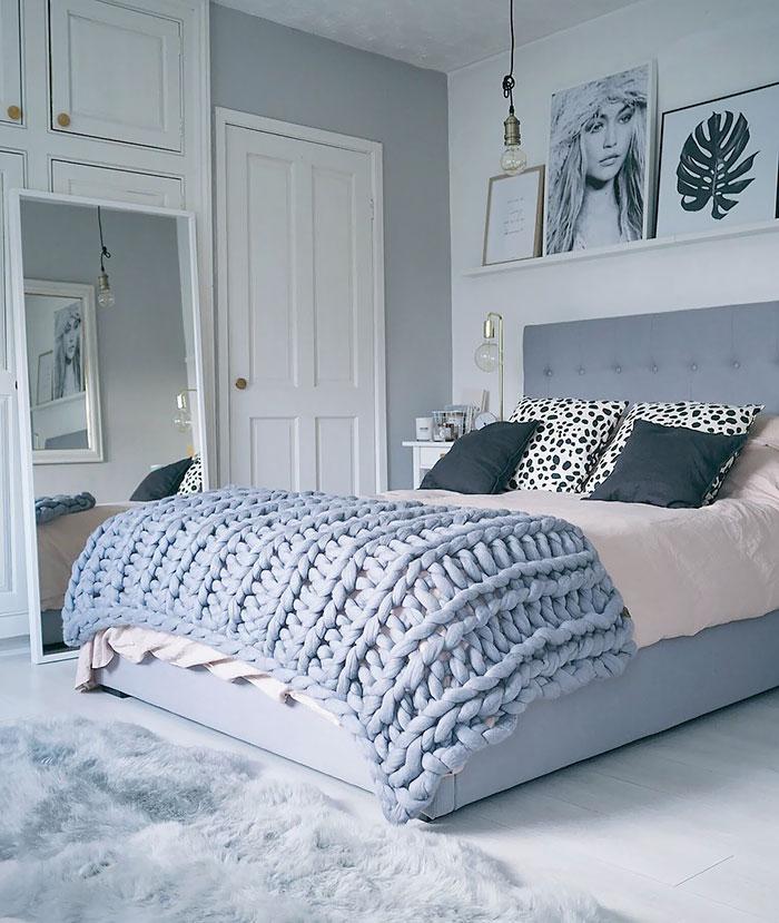 Készíts trendi kötött ágytakarót! (Videóval)