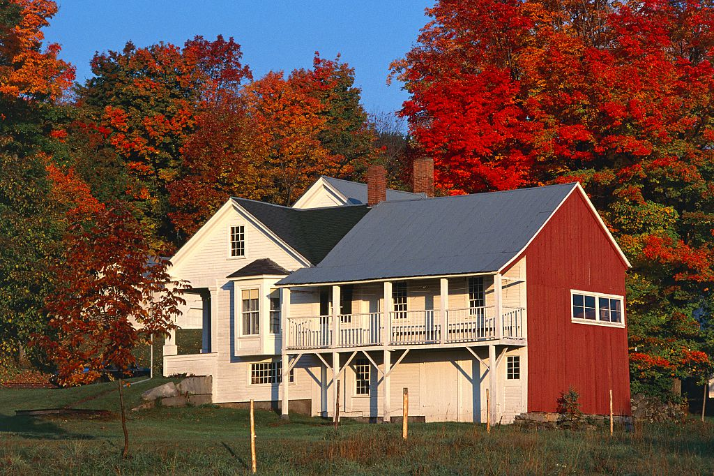 Traditional mansion, Vermont, Peacham