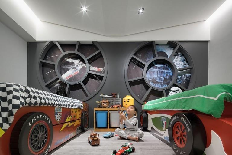 Így néz ki egy igazi Star Wars rajongó család lakása