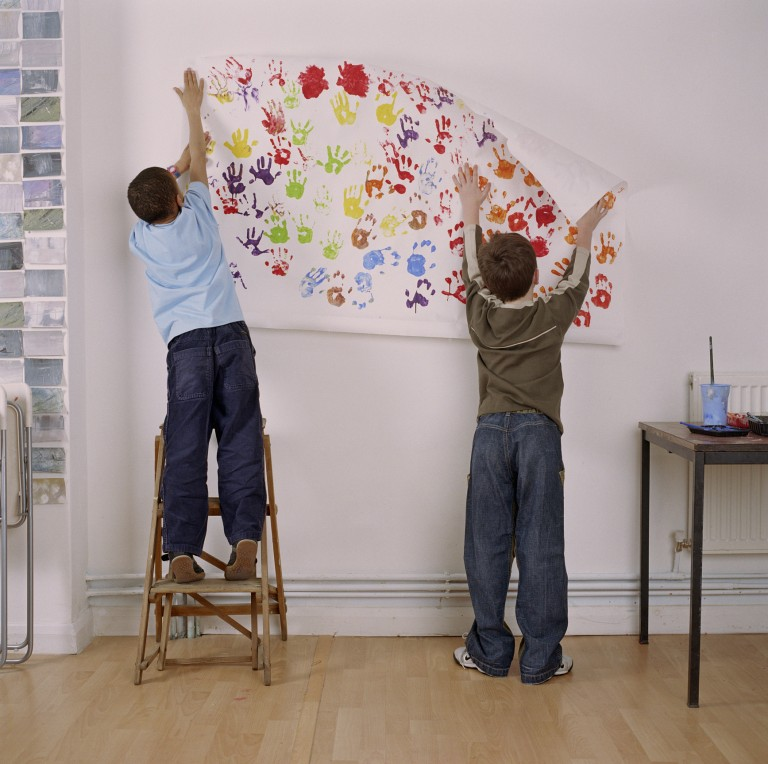 Unalmas poszterek helyett – 12 zseniális alternatíva a falak felöltöztetésére