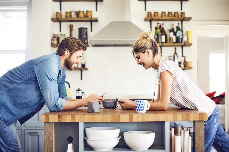 Több funkciós középpont a konyhában: a konyhasziget
