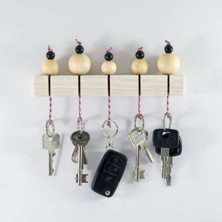 """15 jópofa """"csináld magad"""" kulcstartó, ami garantáltan feldobja otthonod"""