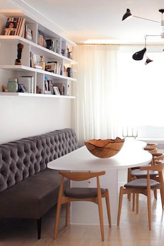 Konyhai luxus: 20 varázslatos étkezősarok, amit bárki imádna magának otthon