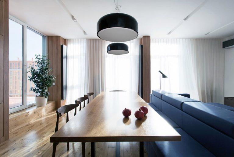 Ahol a kényelem a lényeg – Bájos, tágas, két szobás kislakás letisztult dizájnnal