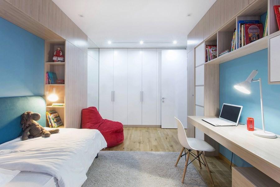 Ahol a kényelem a lényeg - Bájos, tágas, két szobás kislakás letisztult dizájnnal