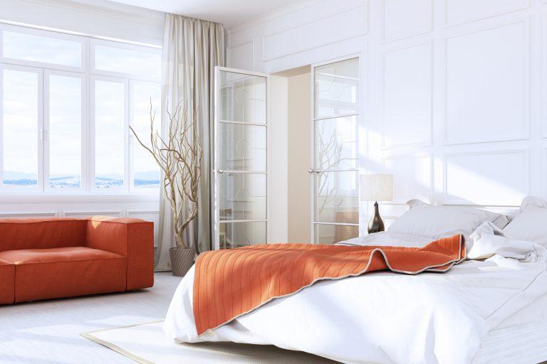 Így találd meg az ágy tökéletes helyét a hálószobában