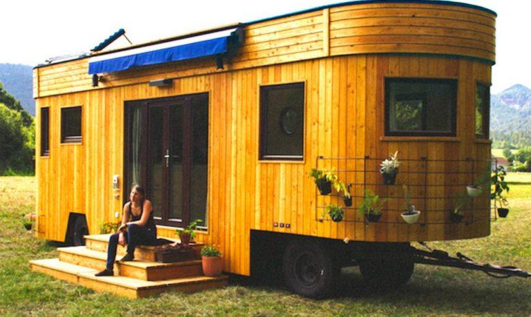 Vagány vagon, azaz ilyen egy környezettudatos lakókocsi