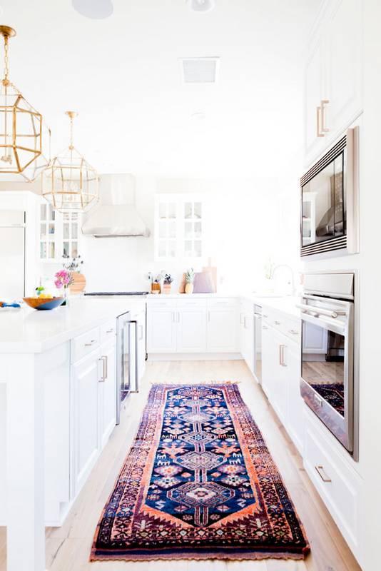 Szőnyeg a konyhában? Miért is ne!
