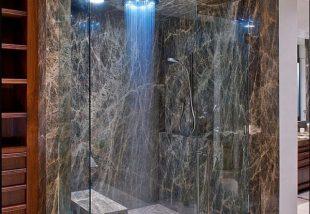 Zuhanyrózsák rózsa nélkül - Formabontó megoldások a fürdőben