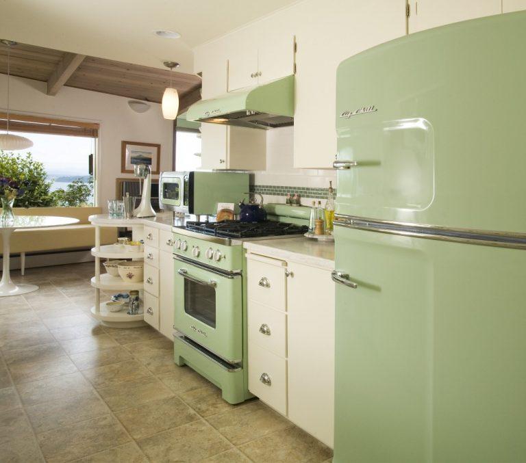 Pasztell konyhák az 50-es évek hangulatában