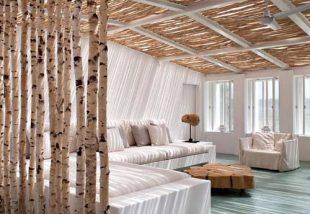 Csak természetesen! 10 lenyűgöző szobaelválasztó természetes alapanyagokból