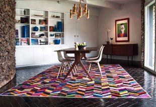 Alapozd meg a vacsorát ilyen vagány szőnyegekkel az asztal alatt