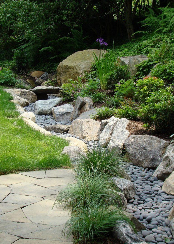 A legújabb őrület: kerti patak víz nélkül