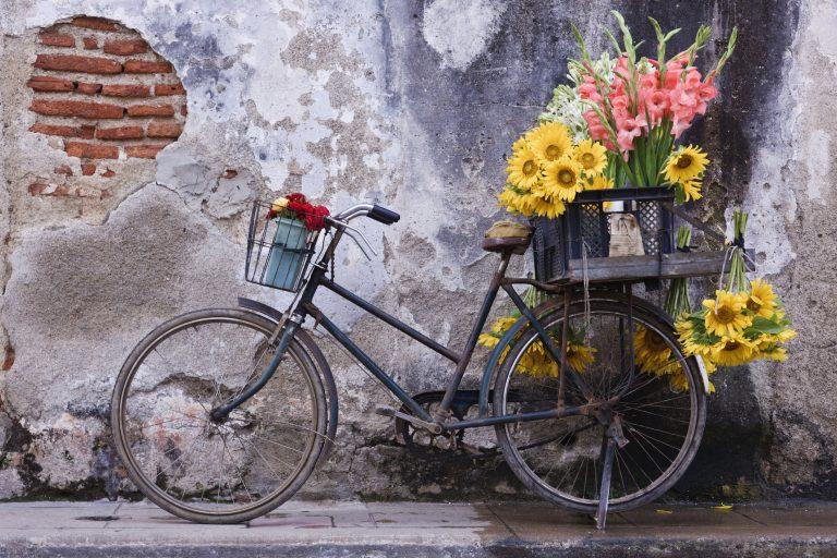 Lakásdekoráció két keréken! A legtündéribb biciklis dekorációs ötletek a házban és azon kívül!