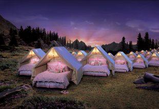 8 elképesztően stílusos sátorbelső: ez a glamping!