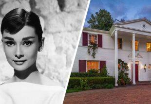 Járd körbe velünk Audrey Hepburn egykori, Los Angeles-i kúriáját!
