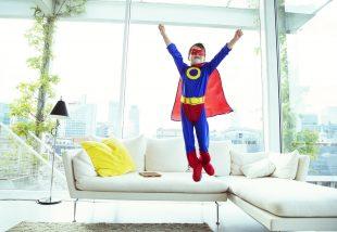 Az apró szuperhősök szobája