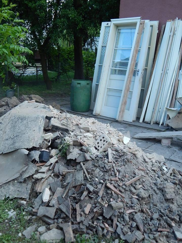 Egy életújítás eredménye: ház francia ablakkal