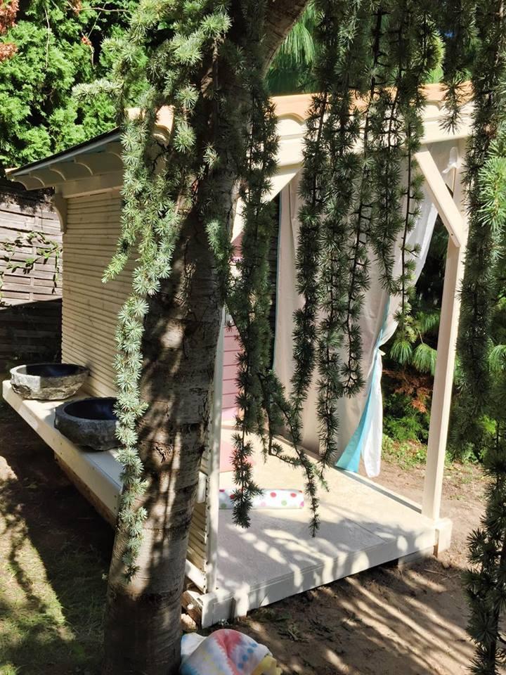 Púderrózsaszín kuckó! Íme, a nyár legédesebb háza