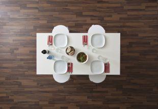 Ebédidő! 32 különleges ebédlőasztalt mutatunk!