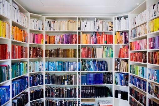 Ezt imádni fogod! Színezd újra a könyvespolcot!