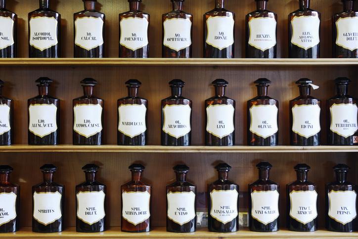 Receptre írt stílusleckék! Patikus üvegekből autentikus őszi dekoráció
