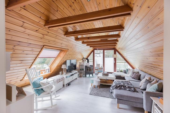 Semmi ferdítés! Ezek a tetőtéri hálószobák bárkit lenyűgöznek