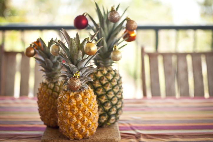 Meghoztuk az idei ünnep első szenzációját: az ananász az új karácsonyfa