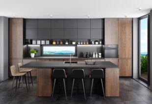 Sötét és izgalmas! Így működik a matt fekete, mint dekor szín, a konyhában