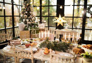 Terítéken az ünnep! Karácsonyi asztaldekorációk, melyekkel minden vendéget levehetsz a lábáról