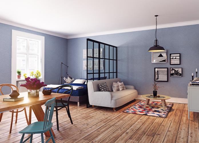 10 páratlan ötlet, hogyan hozd ki kis lakásodból a legtöbbet egy térelválasztóval